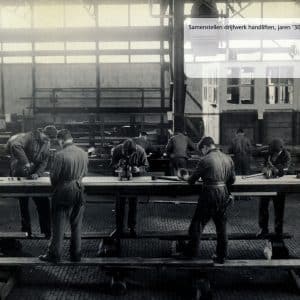 Starlift, werkplaats, Westvlietweg, Leidschendam, jaren 30
