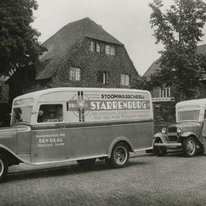 Wasserij Starrenburg, wagens, 1935