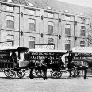 Starrenburg, wasserij, Fahrenheitstraat, ca. 1910