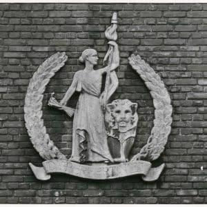 Het Vaderland, logo, Parkstraat