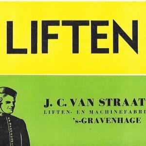 J.C. van Straaten, liften, Jacobastraat 266, 1954