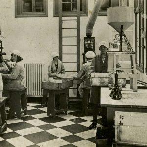 De Veluwe, Theepakkerii, Scheepmakersstraat, 1935