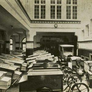 De Veluwe, wagens, Scheepmakersstraat, 1935