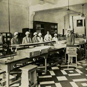 De Veluwe, Theeafdeling, Scheepmakersstraat, 1935