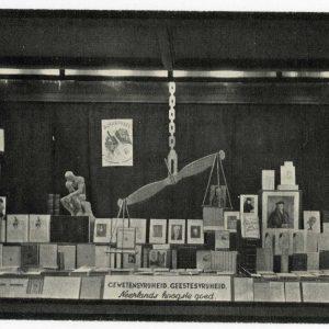 De Vijf Vocalen, etalage,1939