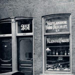 Volharding, bakkerij, Paulus Potterstraat 231, 1880