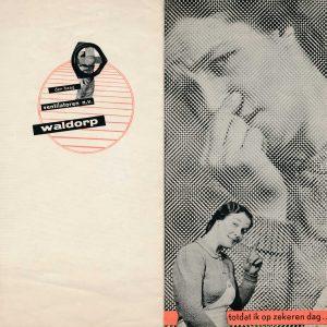 Waldorp, folder ventilator, jaren 30