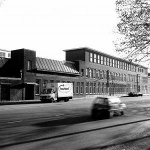 Bedrijfscomplex Waldorp Radio, Waldorpstraat 268-272, 1990