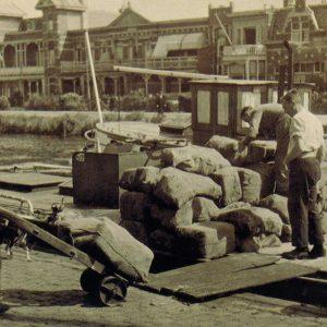 Was de Wit, Geestbrugkade 30-31, Rijswijk, 1945