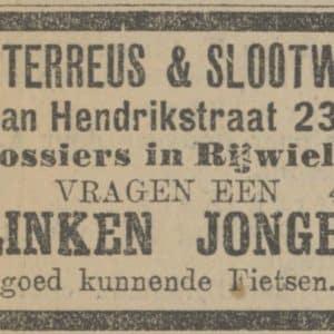 Waterreus Slootweg, Jan Hendrikstraat 23, 1911