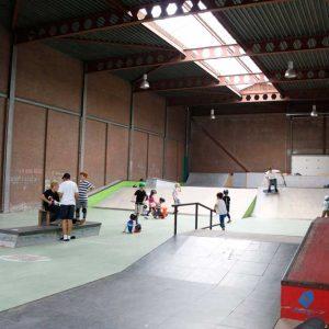 Van Weers, papierrecycling, skatehal, Binckhorstlaan 2015