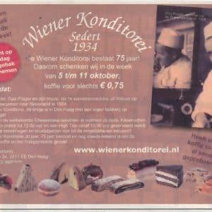 Wiener Konditorei, Korte Poten, 2009