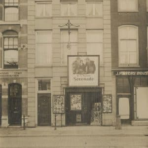 Wyers, groothandel textiel,Prinsegracht 20, 1924