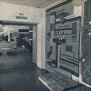 Wyers, groothandel textiel,Prinsegracht 26, 1951