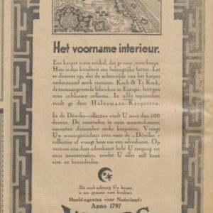 Wyers, groothandel textiel,Prinsegracht 26, 1929