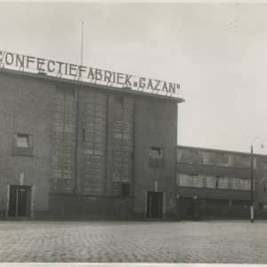 Gazan confectiefabriek, Waldorpstraat 294, 1939