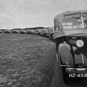 autobusvloot Amova pullman jaren 50