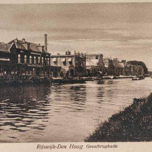 Aan de Geestbrugkade waren diverse fabrieken gevestigd in de jaren 20.