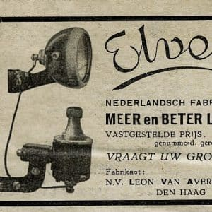Advertentie Elvea dynamo model 1934