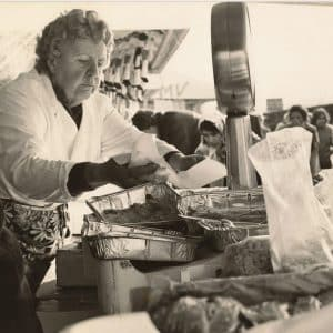 Simoniskraan op de Haagse markt, Herman Costerstraat