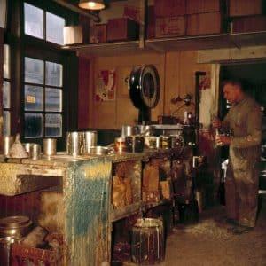De Vos, verffabriek, Maaswijkstraat, ca. 1950
