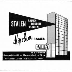 ALTA, N.V. Fabriek van stalen-ramen (1938 - 1989)