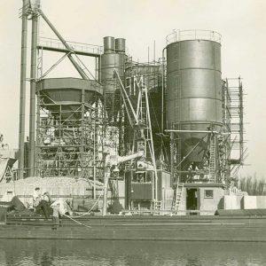 NMB BAM, betoncentrale, Zonweg, jaren 60