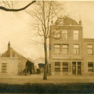 Houthandel A. van Gogh, Loosduinseweg, ca. 1920