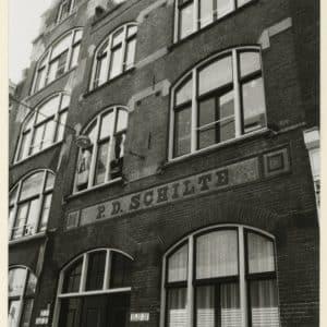 Schilte, P.D. Theehandel, koffiebrander en tabakskerverij (1868 – 1968)