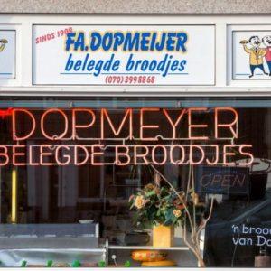 De winkel van Dopmeijer aan de Rijswijkseweg, 2018