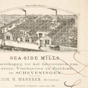Briefhoofd, Sea-Side Mills,Haringskade, ca. 1880