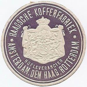 Haagsche Kofferfabriek (1883 - ?)