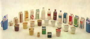 Productassortiment Van Grieken, jaren tachtig.