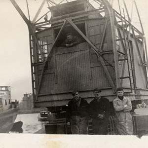Kraan firma Heijdra, Slachthuiskade, jaren 50