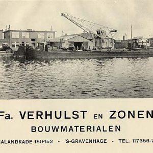 Bouwmaterialenhandel Verhulst, Calandkade, 1935