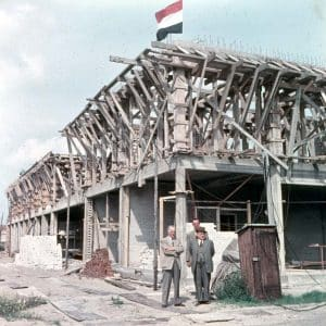 De Vos, verffabriek, Saturnusstraat 15-17, 1955