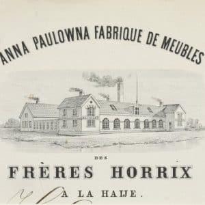 Anna Paulowna Meubelfabriek (1766-1890)