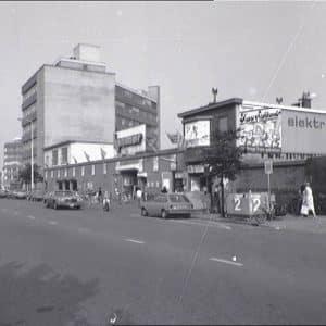 Konmar, supermarkt, Waldorpstraat, 1982