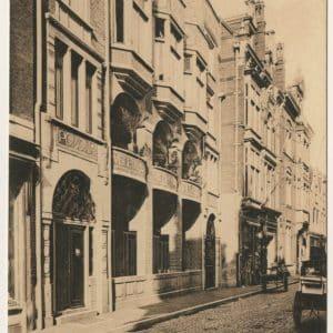 Vegetarisch hotel-restaurant 'Pomona', Molenstraat, ca. 1915