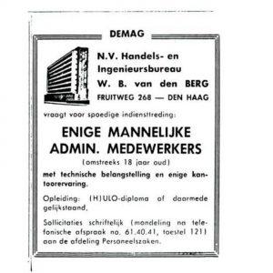 Berg, van den, Transporttechniek (1945 - heden)