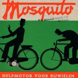 Waldorp Radio, folder Mosquito, ca. 1950