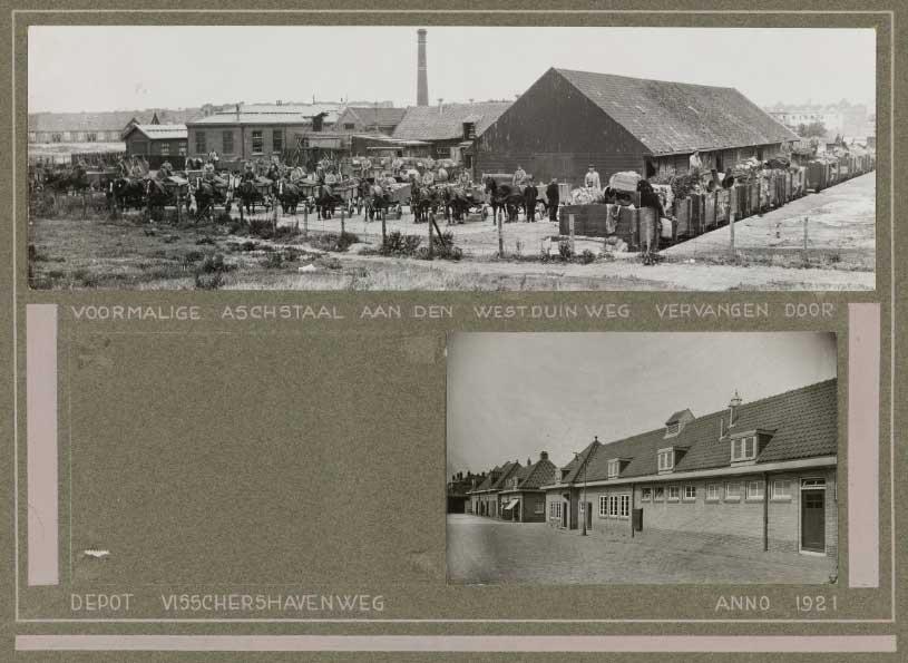 Depot Gemeentewerken, Vissershavenstraat, 1921