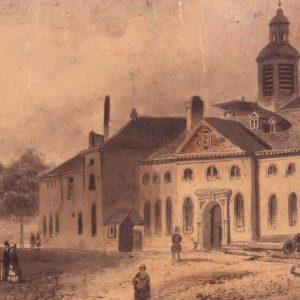 Geschutgieterij, Kanonstraat, 1850