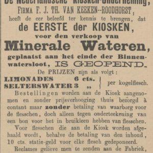 Van Keeken, Binnenwatersloot, Delft, 1899