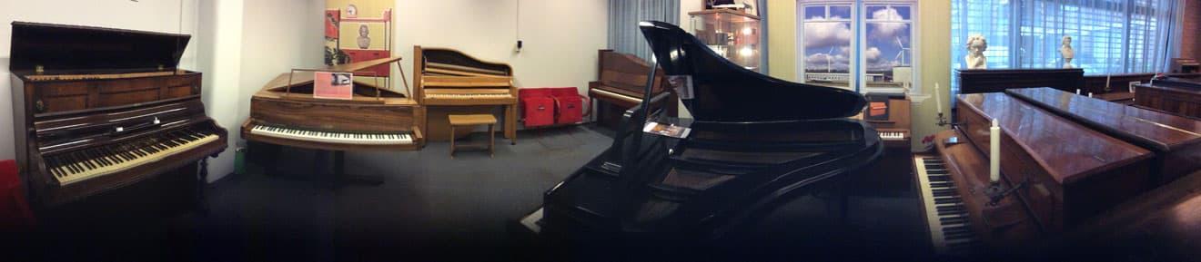 Piano's van de Stichting Pianobouw Nederland