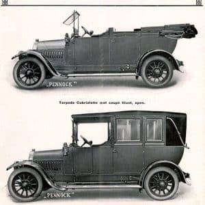 Pennock, carrosseriefabriek, Binckhorstlaan, 1912