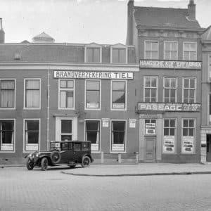 Bedrijfspand Haagsche Kofferfabriek, jaren 20.