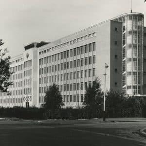 Shell, BIM-kantoor, Wassenaarseweg, 1949.
