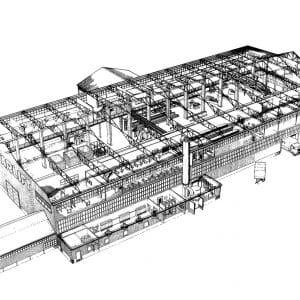 Starlift, bouw, Westvlietweg,1967