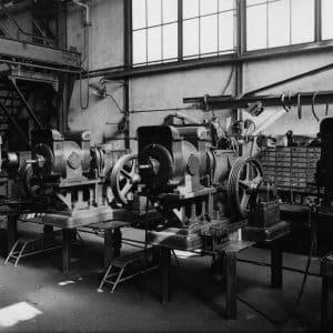 Starlift, machines, Westvlietweg, Leidschendam, jaren 50